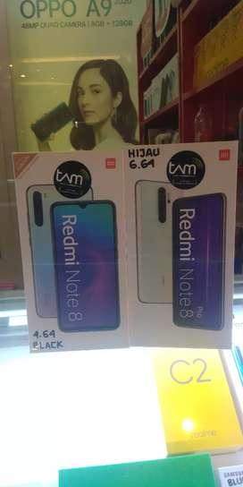 Xiaomi note 8 & note 8 pro nya monggoh bos bisa di CREDIT