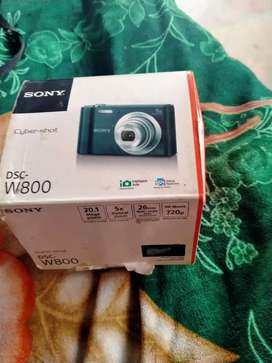 Sony Cyber-Shot DSC- W800 Camera For sale chap Price Normal 1 Moth use