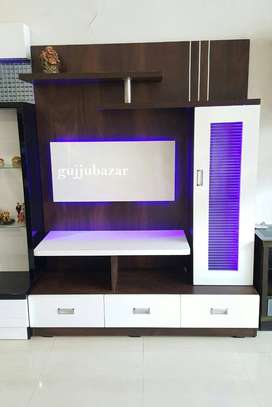 Tv Unit with LED lights