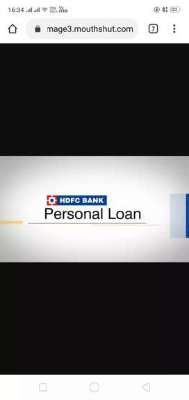 Provided all types loans