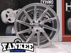 Velg Mobil Xpander dll Ring 18 HSR Wheel CIAO Silver