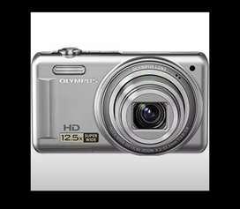 Camera Digital Olympus vr-320 warna silver