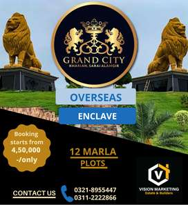 Residential plots of 12 Marla for sale