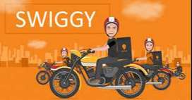 We are hiring food delivery executives for Swiggy