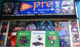 GAMING CAFE FOR SALE(PLAY STATION, VIRTUAL REALITY GAMES, POOL TABLE)