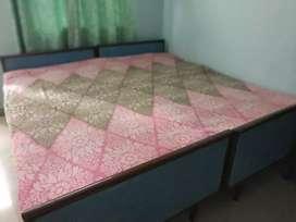 Sheesham double bed