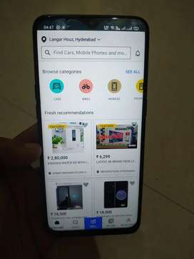 4months Realme 5 Pro with Complete Phone Care 1 Year