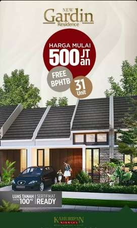 Rumah kahuripan nirwana buduran sidoarjo tanpa dp nol free biaya baru
