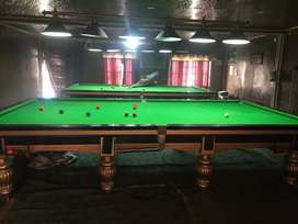 21 Balls Snooker Table 6x12( 2 tables) with brand new conditions