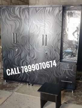 Wardrobe 4 door with dressing all type furniture available