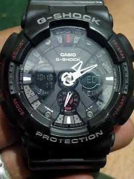 Jual cpt mrh G-Shock GA-120 mulus all fungsi+box kaleng