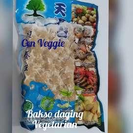 Bakso daging vegan