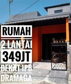 Rumah 2 lantai di Perumahan Griya Dramaga Asri Cibanteng Bogor