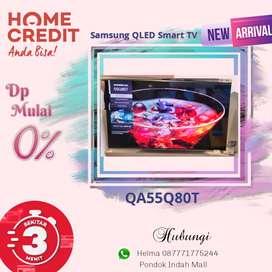 Samsung QLED Smart TV QA55Q80T Kredit Tanpa Kartu Kredit Proses Cepat