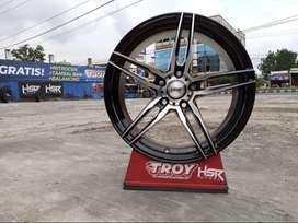 Pelek Racing STROM 5068 FC R17X75 H5X114,3 ET40 Untuk Mobil Ertiga
