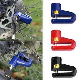 Kunci Gembok Pengaman Rem Cakram Disc Motor Brake Disc Lock Sepeda