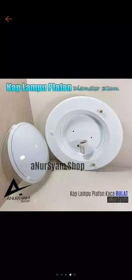 Lampu plafon minimalis dngn fitting lampu seperti pada umumnya