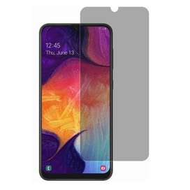 Violet Tempered Glass Privacy Color Side Samsung Galaxy A70