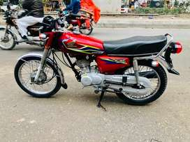 Honda 125 2017 model new condition