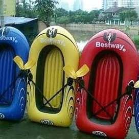 Perahu karet best way kapasitas 2 orang