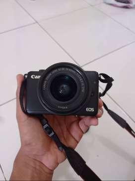 Kamera Canon EOS M10 No Box mulus Kondisi Baik