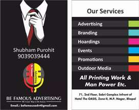 Cement company marketing work bhopal