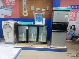Glass Top Chest Freezer, Deep Freezer from Blue Star