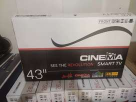 42 inch smart LED tv mirror cast