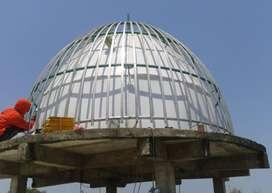Pembuatan Kubah Masjid bahan GRC Kualitas Terjamin Harga Miring
