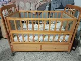 Baby Cot bed with metress.