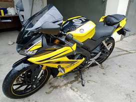 Yamaha R15 v3 th 2019 cash / credit elegan mantap jooss
