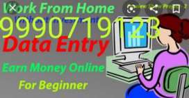 We are offering home based job data typing