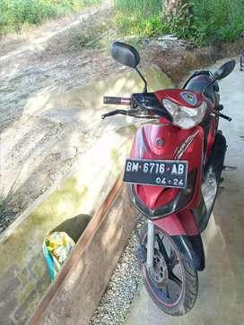 Yamaha Mio Sporty CW, Surat Lengkap, Kndisi Oke, Ban Baru, Pajak Hidup