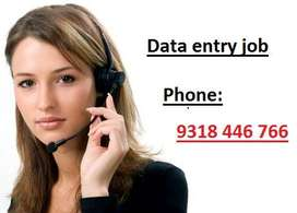 Genuine and best part time job easy data entry work offline data