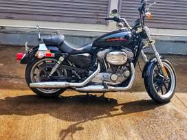 Harley davidson superlow only 4800kms driven