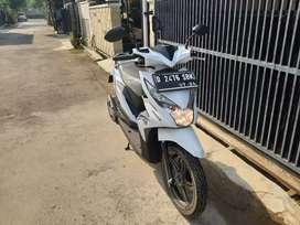 Honda Beat FI 2019 Warna Putih Km 40