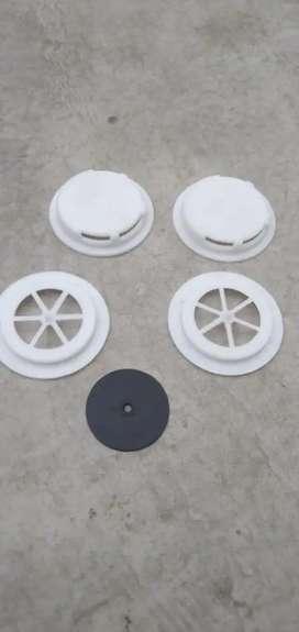 Mask filter caps