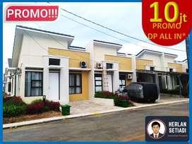 Rumah minimalis cluster PROMO DP 10jt-an di dkt tol Karawang e Barat