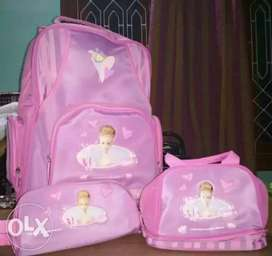 Imported  and unused School bag set