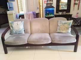 Seven Seater Sofa Set with Tables