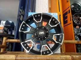 Velg Mobil HSR Komo Emr904 Ring 20 H6x139,7 Hillux Terano Pajero Keren