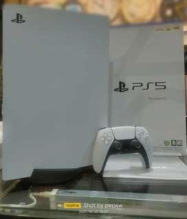 PS5 Disc ver. 2nd jarang pake mulus