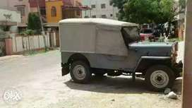 Vintage model jeep cj500d at good condition price fixed