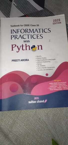 Class 12 (information practices with python)