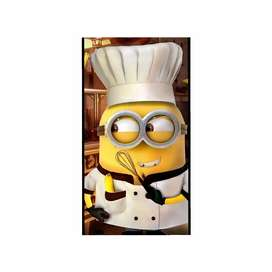 Need a chef who can deal with Chinese, italian, american, continental