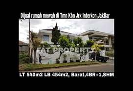 Dijual rumah mewah di Taman Kebon Jeruk Intercon,JakBar