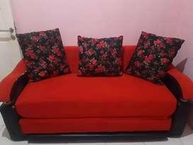 Sofa Bed 3 in 1 Bekas