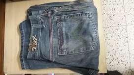 Indigo jeans. Size 32
