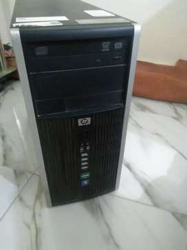 Hp Tower 6005 with 6 GB RAM and 1 TB HDD 1 GB Graphics Card