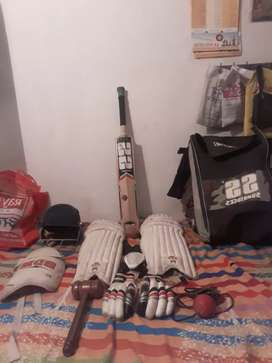 SS Cricket kit set with all equipment